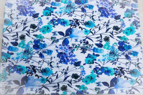 Dressikangas sinised lilled