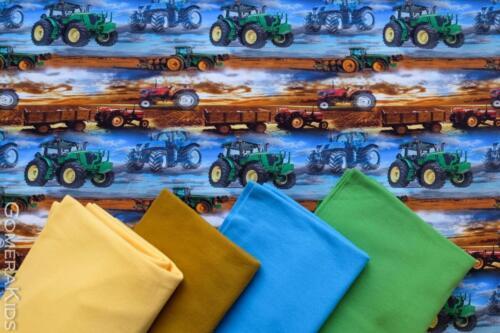 Puuvillane  trikotaaž traktorid