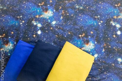 Puuvillane trikotaaž Galaktika