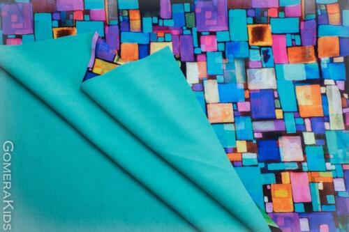Softshell värvilised akvarell ruudud